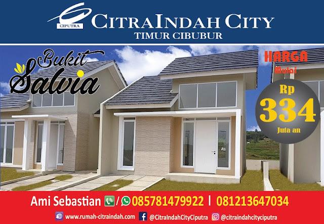 Bukit SALVIA - All New Semi RE Citra Indah City mulai dirilis - Harga Mulai 334 Jtan