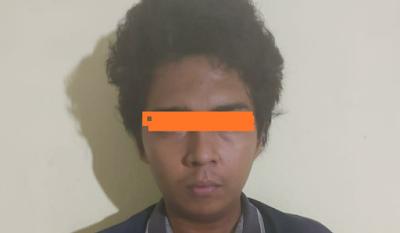 Warga Medan Ini Ketangkap Simpan Sabu saat Digerebek Polisi di Pardomuan Nauli