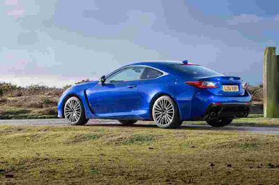 Side Photos of Lexus RC F Cars