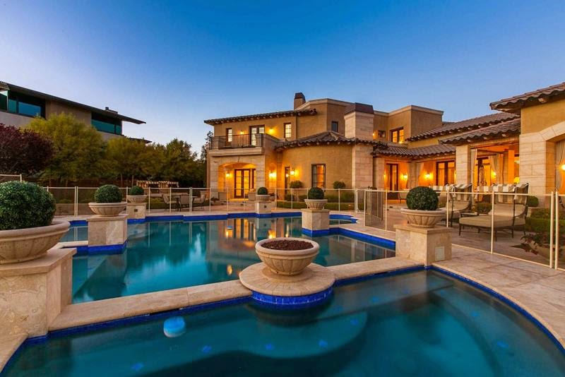The gallery for --> Luxury Homes With Pools