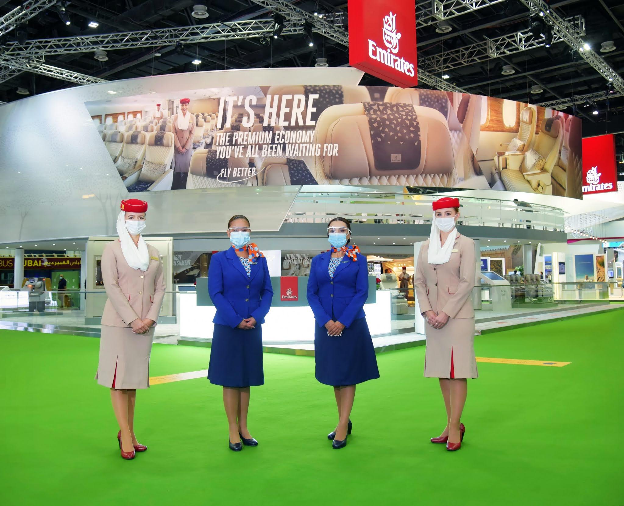 168  وجهة إجمالي شبكة طيران الإمارات وفلاي دبي بنهاية مايو