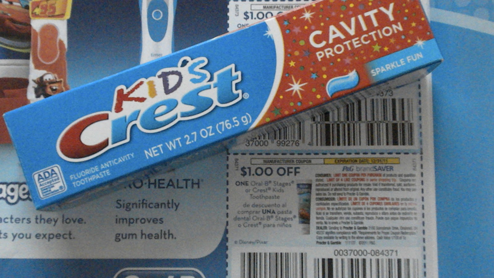 Extreme Couponing Mommy: **HOT*** FREE Crest Kids Toothpaste