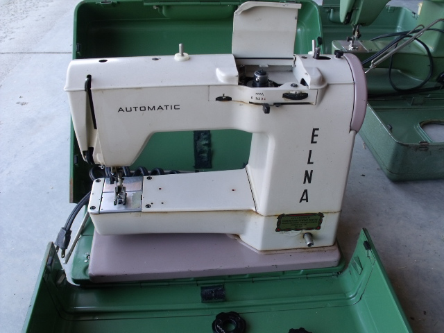 History Elna Sewing Machines