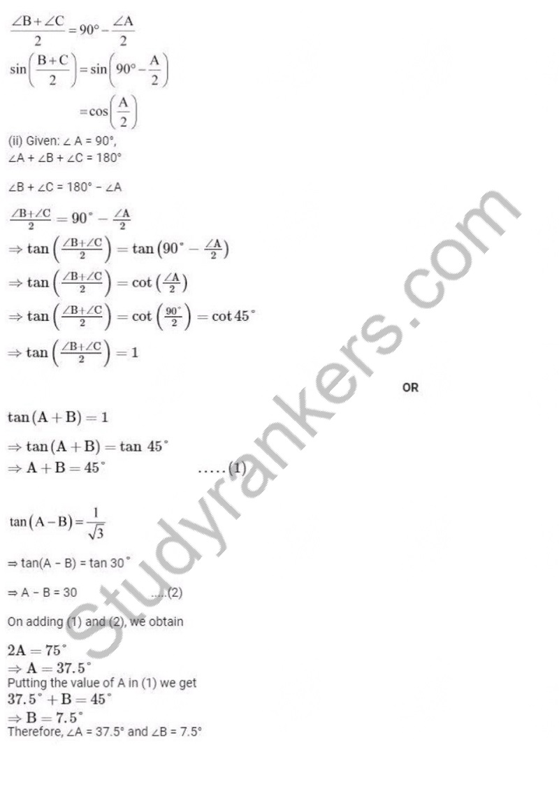 Previous Year Question Paper for CBSE Class 10 Maths 2019 Part 10
