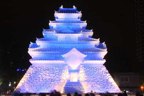 Sapporo Snow Festival, Hokkaido.