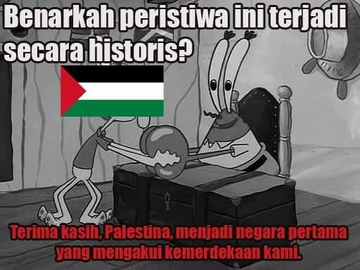 Benarkah Palestina Negara Pertama Yang Mengakui Kemerdekaan Indoneaia ? Dimana Tahun 1945 Palestina Belum Menjadi Sebuah Negara dan Masih Menjadi Kolomi Inggris