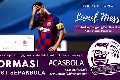 Lionel Messi Dikabarkan Hengkang Dari Barcelona
