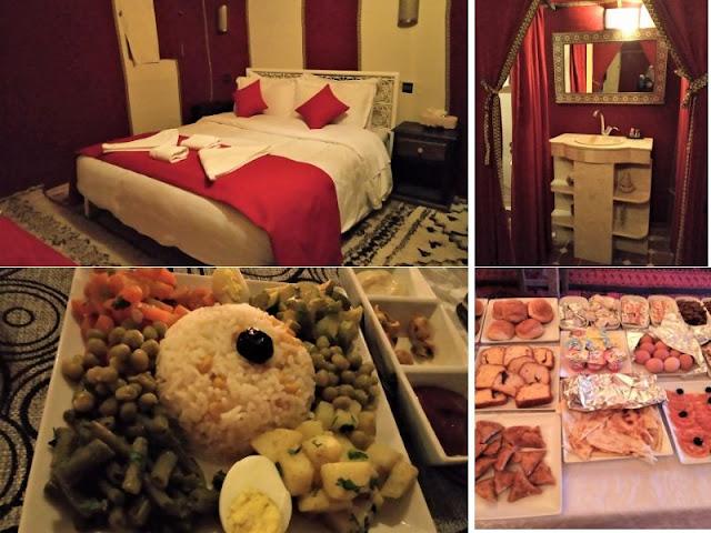 tenda e cibo al sirocco luxury camp