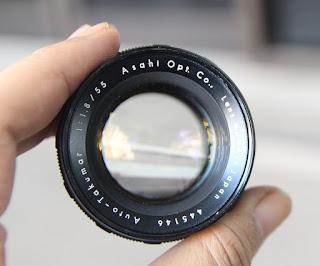 Lensa Takumar 55mm f1.8 Manual