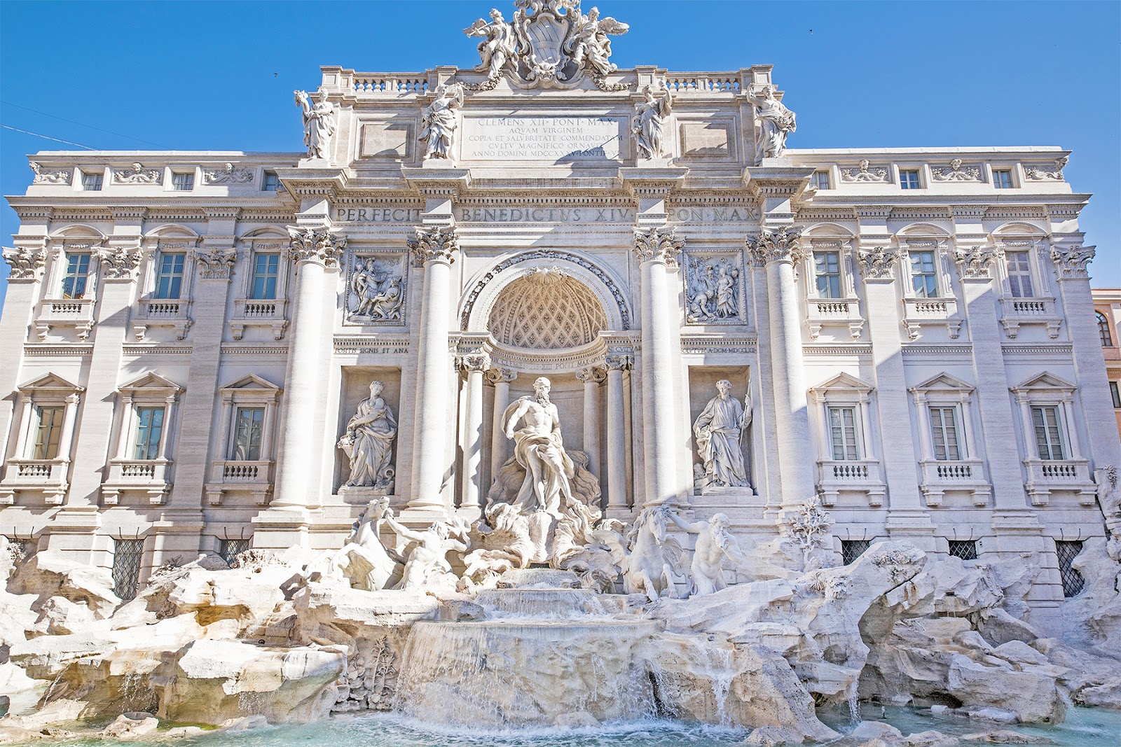 Rome, Italy by Posh, Broke, & Bored - Trevi Fountain