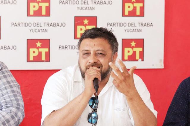 Suspende el PT a su asesor jurídico Winston Tamayo por violencia intrafamiliar, agresión y allanamiento de morada