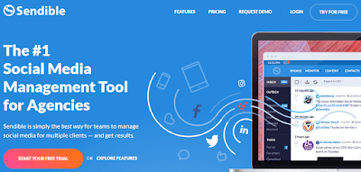 Sendible social media management tool