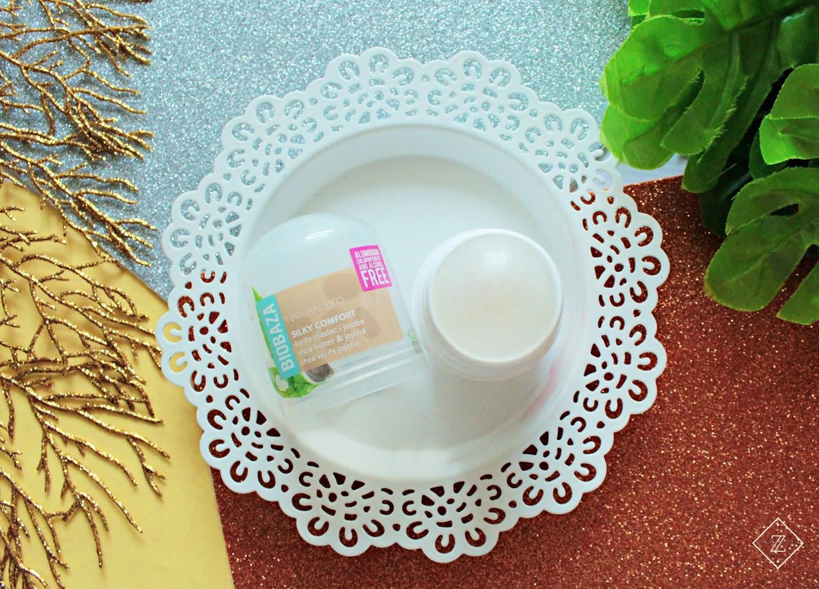 BIOBAZA DEO - Silky Comfort - dezodorant w kulce