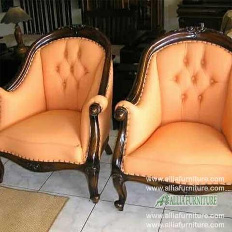kursi sofa tamu ukiran model lois gelung