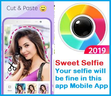 Sweet Selfie Your selfie will be fine in this app Mobile App