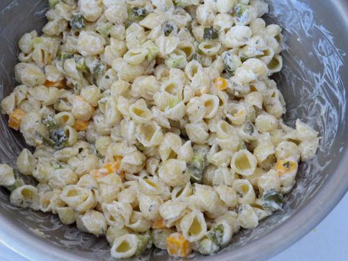 pickle macaroni salad