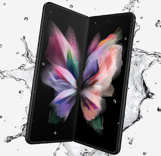 Samsung took the wraps off its new foldable flagship phone Galaxy Z Fold3 5G last night.