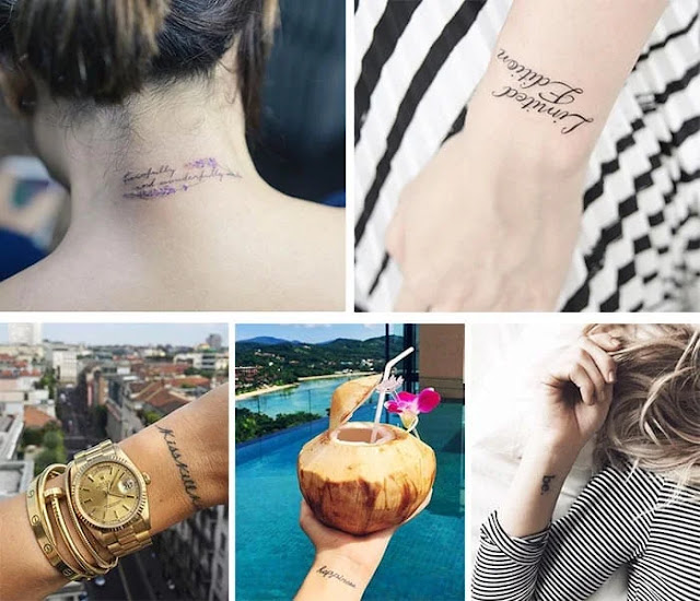 The coolest tiny tattoos seen on celebrities