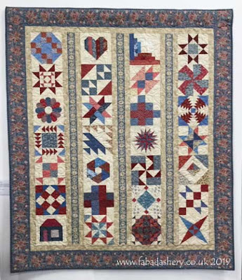 Shipton Quilters Charity Quilt,  quilted by Frances Meredith at Fabadashery Longarm Quilting