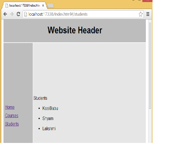 Anjularjs 24 angularjs layout template routeprovider same page is updated with respective page contentwithout ng include so we called as single page applicationsspas development pronofoot35fo Choice Image