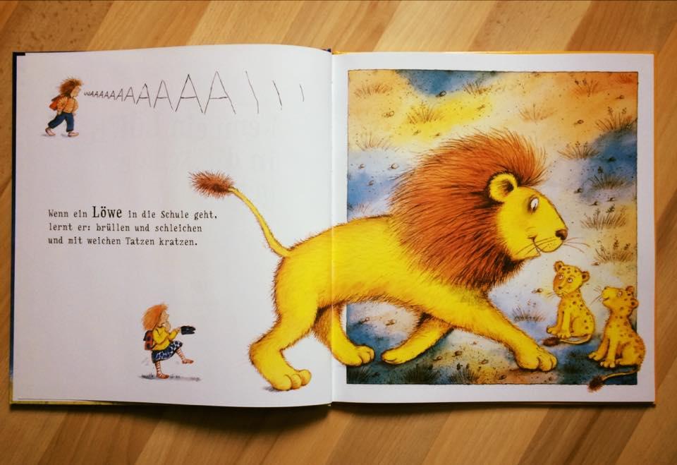 Vorbereitungen 1 Schultag Bilderbuch Wenn Ein Lowe In Die