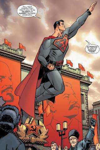 His Soviet comrades in Superman Red Son PDF