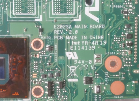 Asus E202SA Mainboard Rev. 2.0 Laptop Bios