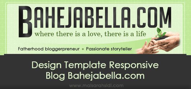 Design Template Responsive Blog Bahejabella.com