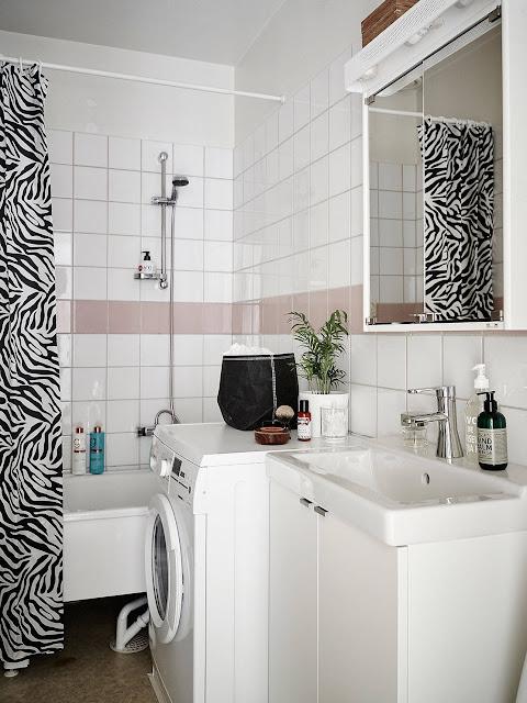 biała łazienka, jasna lazienka, styl skandynawski