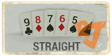 Stright IDN Poker