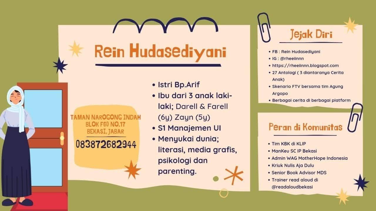 biodata Rein Hudasediyani