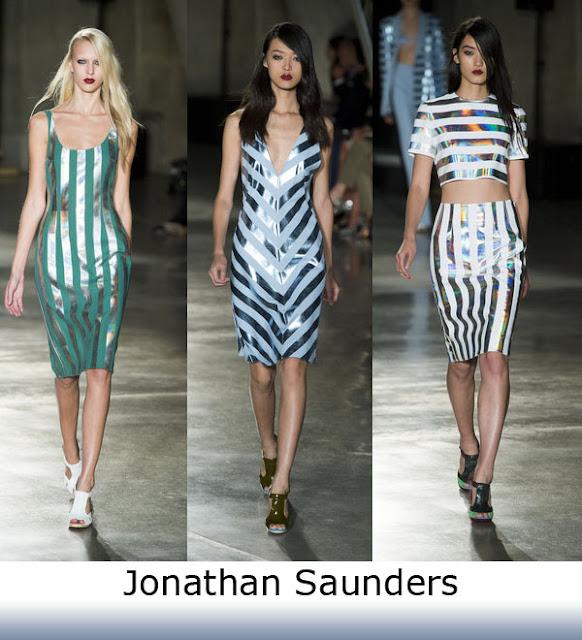 Spring Trend 2013 Jonathan Saunders Metallic