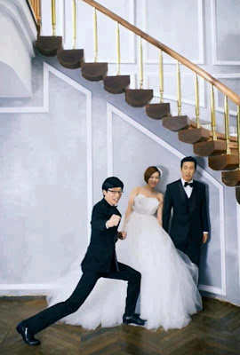 haha and byul wedding with running man