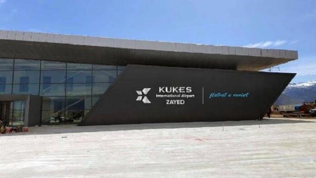 Kukës Airport -  Zayed-Flatrat International Airport - ready on April 18, Edi Rama says