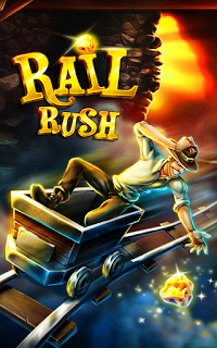 Download Rail Rush  Mod Apk for Android Terbaru 2017