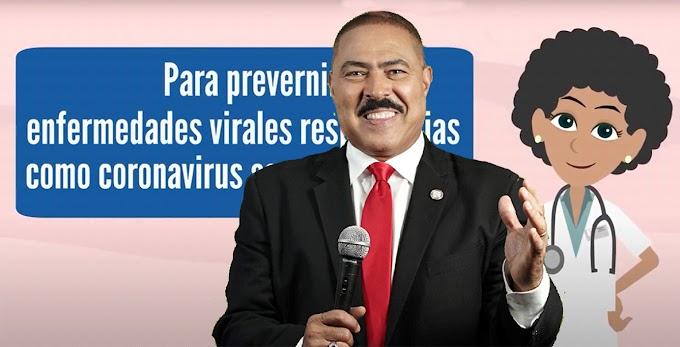 Polanco dinamiza campaña masiva de información sobre protección contra coronavirus