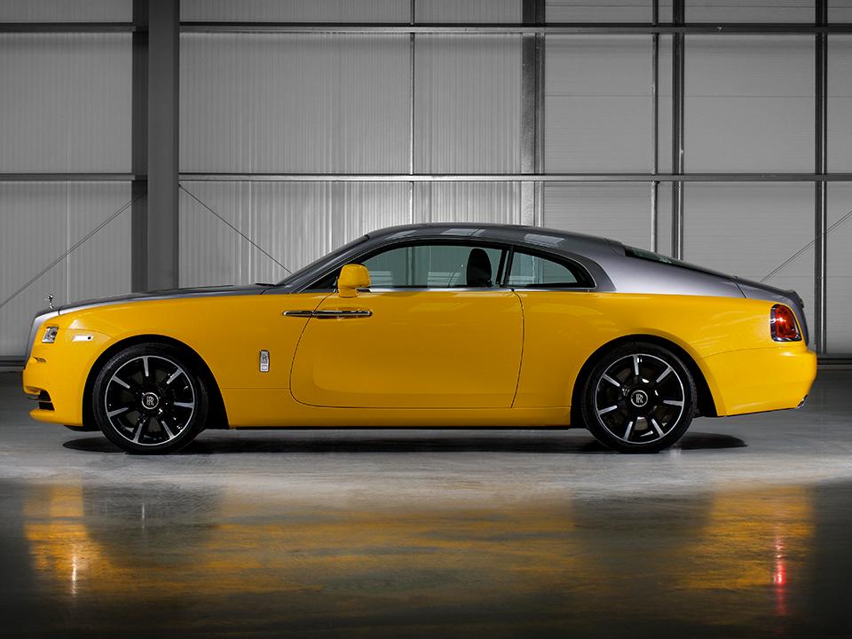 The Yellow Rolls-Royce Reborn In Bespoke Wraith