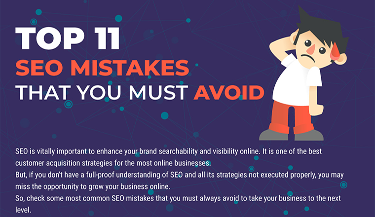 Top 11 SEO Mistakes that You Must Avoid