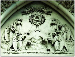 Anjos no Céu - Esculturas na Igreja Santa Teresinha, Porto Alegre