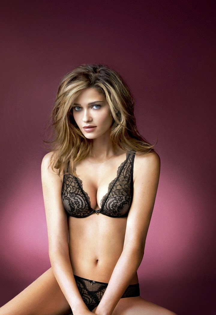 Intimissimi Lingerie Campaign 2014 featuring Ana Beatriz Barros d9a80c53aaa