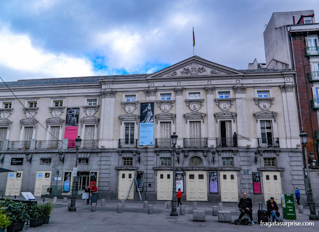 Madri: Teatro Español, na Plaza de Santa Ana