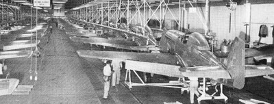 army air corp, manufacturing