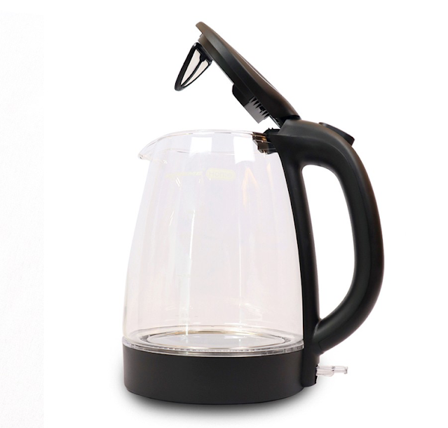 XTREME Home transparent electric glass kettle