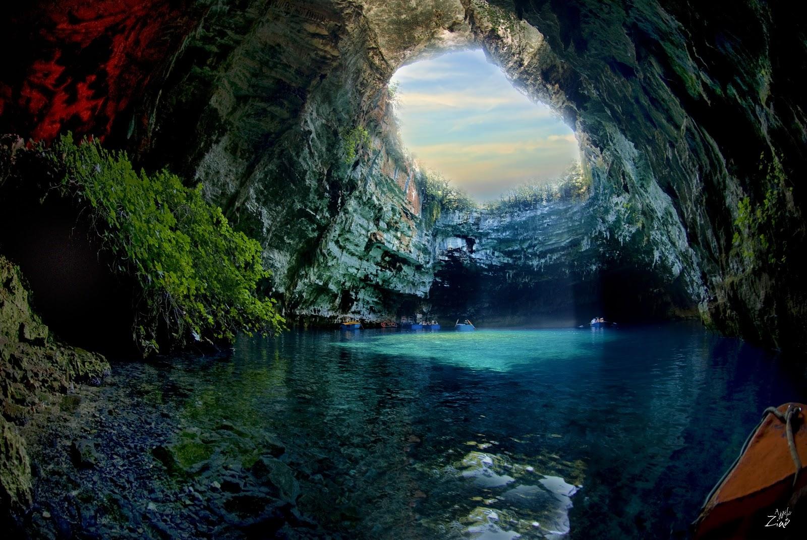 TOP WORLD TRAVEL DESTINATIONS: Mellisani Caves