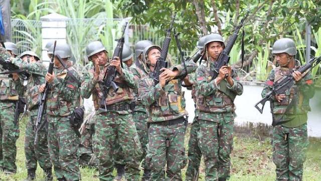 Polisi dan TNI Sisir Pedalaman dengan Senjata Serbu, Jelang Milad GAM