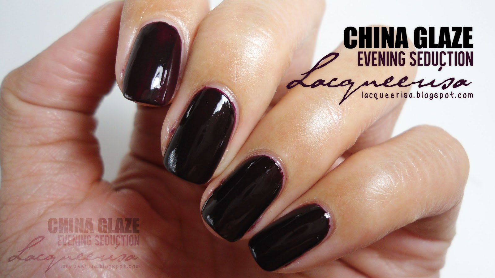 Lacqueerisa: China Glaze Evening Seduction