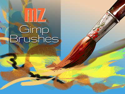 mz gimp brushes, Made With Gimp