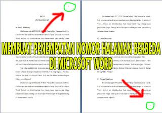 Membuat Penempatan Nomor Halaman Skripsi di Microsoft Word