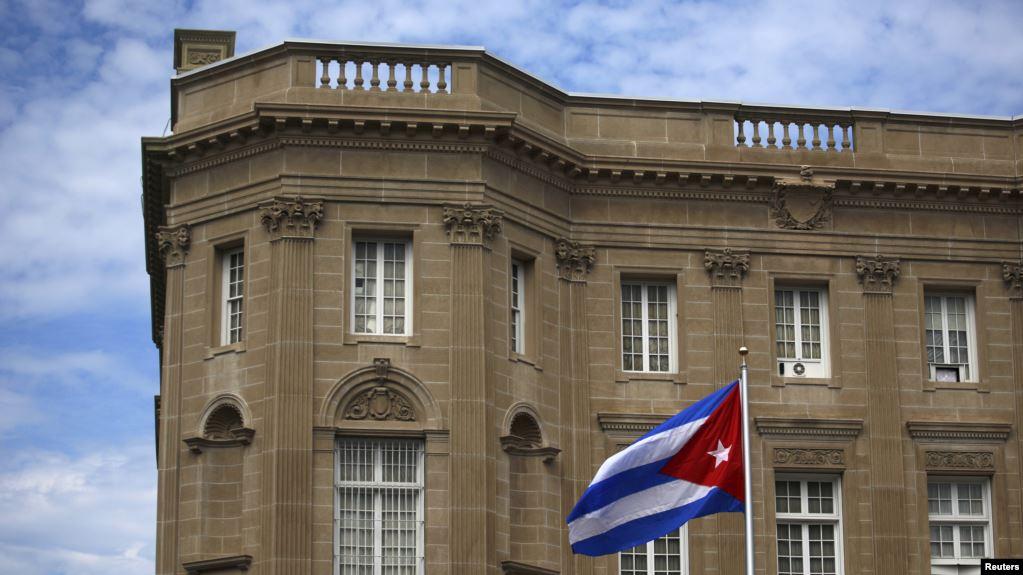 El edificio de la Embajada de Cuba en Washington DC / REUTERS
