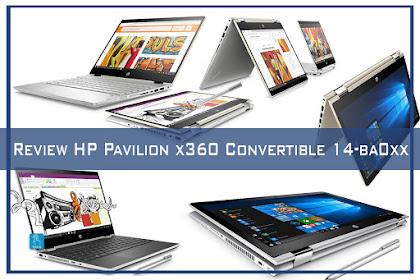 Review Notebook HP Pavilion x360 Convertible 14-ba0xx